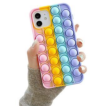 Iphone 12/12 Pro - Shell / Bescherming / Pop It Fidget