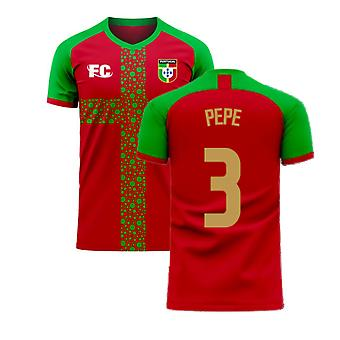 Portugal 2020-2021 Home Concept Football Kit (Fans Culture) (PEPE 3)