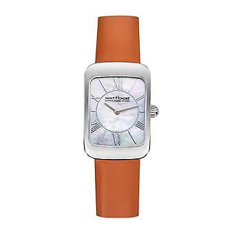 Titta på Women Saint Honor 7210591YRAN - Orange Läderrem