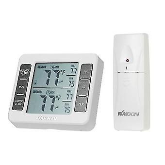 Pour KMini LCD Thermomètre numérique Compteur de température 0 ° C ~ 50 ° C avec mesure ° C / ° F Max Min Value Display WS35928