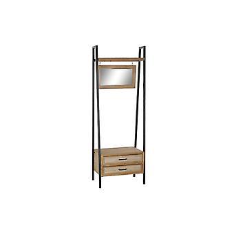 Hallbord med 2 lådor DKD Home Dekor Trämetall (65 x 43 x 180 cm)