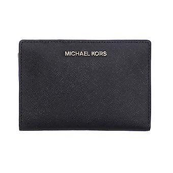 Michael Kors Jet Set Travel Card Case Black