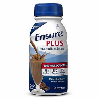 Abbott Nutrition Oral Supplement Ensure Plus Chocolate Flavor 8 oz. Container Bottle Ready to Use, 1 Each