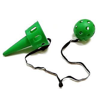 Kinderen gooien en vangen bal kit, scoop bal catch ball game (groen)