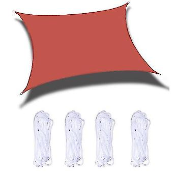 Sun Shade Sails Canopy 118x118 In For Patio Garden Outdoor Facility And Activities(Red)