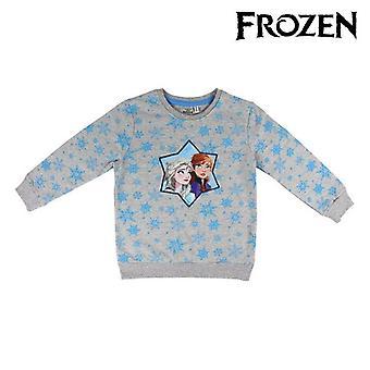 Hoodless Sweatshirt for Girls Frozen 74250 Grey