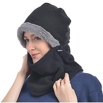 Universal Size Iarna tricotate Balaclava (Negru)