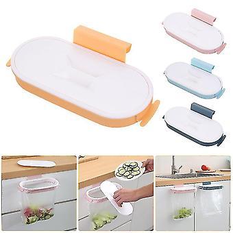 Porte-sac à ordures Rack Cuisine Gadgets Portable Hanging Trash Bag Plastique Porte-sac à ordures