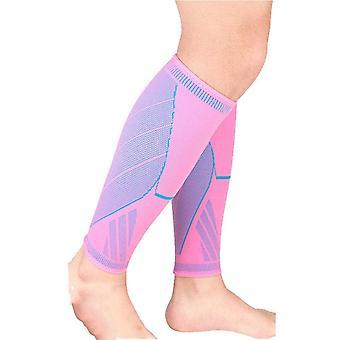 Yksiosainen leggingsit suojaava urheilu puristus vasikka hiha turvallisuus hengittävä lämmin käynnissä vaellus urheilu jalka hiha