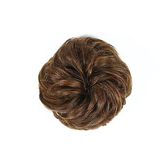 3 Pcs Extensions Wavy Curly Messy Hair Bun Extensions Donut Hair Chignons Hair Piece Wig Hairpiece