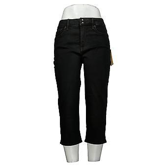 NYDJ Petites Jeans Cool Embrasser Maigre Crop Côté Fentes BleueS A377694