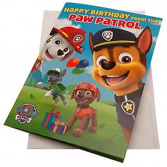 Paw Patrol Fødselsdag Lydkort