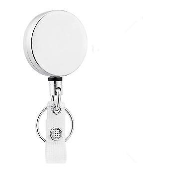 Key Ring Design Retractable Pull Reel- Id Lanyard Badge Holder