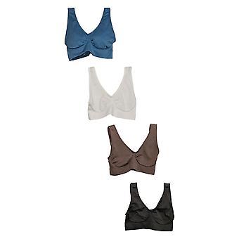 Rhonda Shear Bra Set Of 4 Original Ahh Bra Blue 679993
