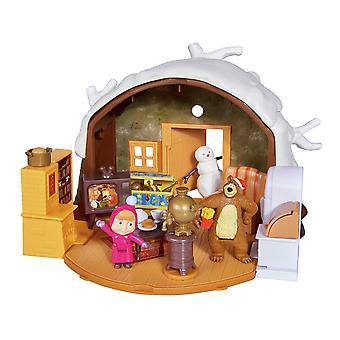 Masha Winter Bear House Playset
