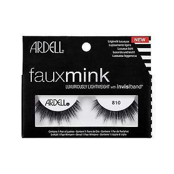 Ardell faux mink 810 øyevippene lette Invisiband full Lash Look