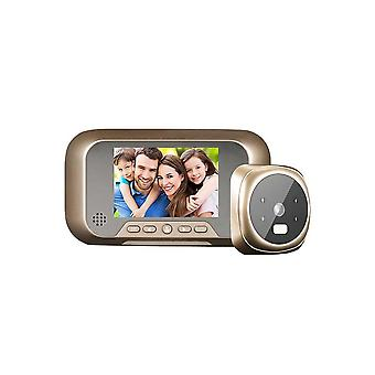 3.0'' Digital Door Viewer Smart Lcd Digital Peephole Door Camera Viewer Hd Monitor With Night Vision Wide View Angle For Home Security