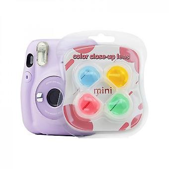 Color Close-up Lens Filter Set Compatible With Fujifilm Instax Mini11/25