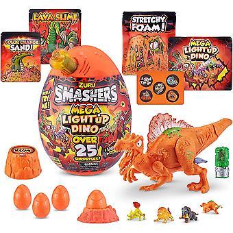 Smashers-Epic Egg-Series 4 Mega Light-Up Dino Spinosaurus