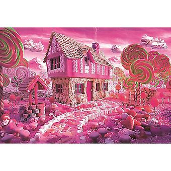 Jigsaw puzzles 1000 pieces candy house jigsaw puzzles toddler kids educational toys game christmas gifts