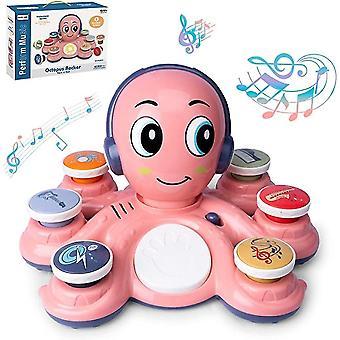 Octopus Music Lernspielzeug für die Entwicklung und das Lernen von Kleinkindern und Kleinkindern