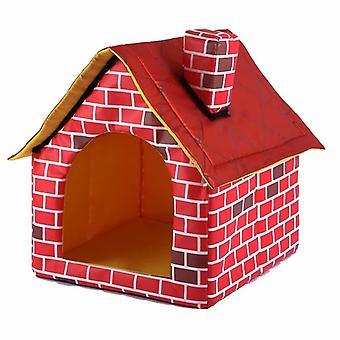 Huisdier schoorsteen nest, tent huis voor katten en honden