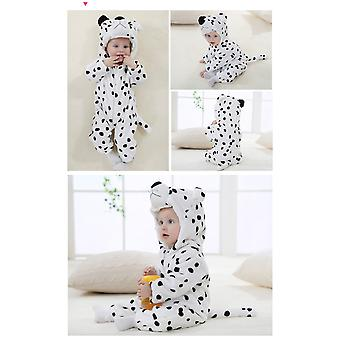 Snow Leopard Baby Rompers Panda Newborn Clothes Baby Girls Boys Romper Infant Clothing Winter Jumpsuit Toddler Baby's Sets Unicorn Pajamas
