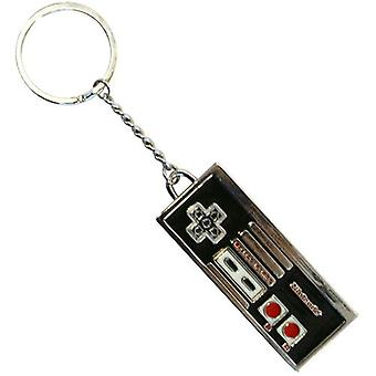 NINTENDO emaloitu metalli NES ohjain Avaimenperä (KE138750NTN)