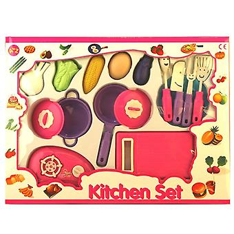 Kids Kitchen Play Set Toy Gift