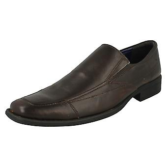 Mens Bruno Donnari Smart Leather Slip On Shoe 'NN 900'