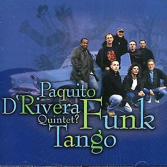 Paquito D'Rivera - Funk Tango [CD] USA import