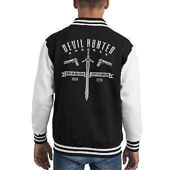 Devil Hunter Devil May Cry Kid's Varsity Ceket