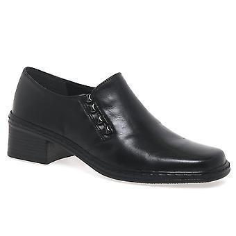 Gabor Gabor Hertha hoge gesneden lederen schoenen