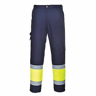 sUw - Hi-Vis Safety Workwear Two Tone Combat Trousers