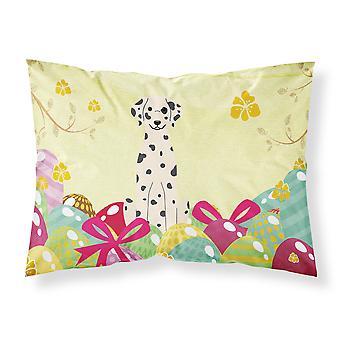 Easter Eggs Dalmatian Fabric Standard Pillowcase