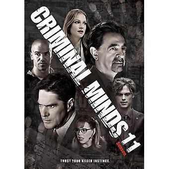 Mentes criminales: Importación de los E.e.u.u. de la 11ª temporada [DVD]