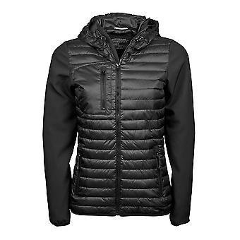Teejays Womens/Ladies Hooded Crossover Jacket