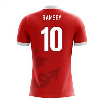 2020-2021 Wales Airo Concept Home Shirt (Ramsey 10) - Kids