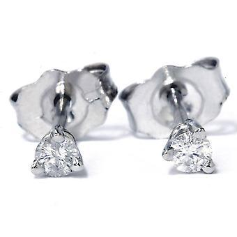 1 / 6ct diamant goujons Platinum