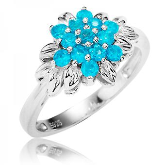 Shipton and Co Ladies Shipton And Co Silver And Apatite Ring RQA417AP