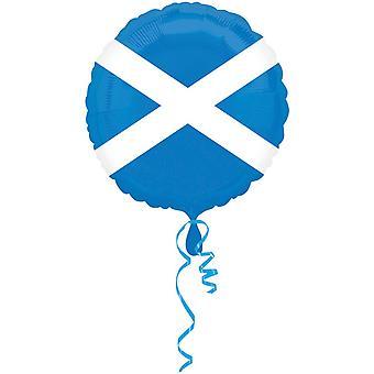 أمسكان 18 بوصة اسكتلندا العلم رقائق دائرية بالون