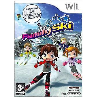 Family Ski (Wii)-fabriken förseglad