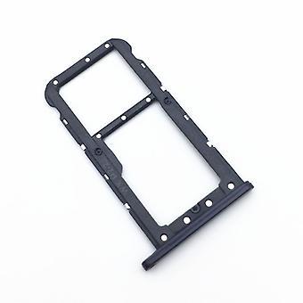 Für Huawei P20 Lite Karten Halter Sim Tray Schlitten Holder Schwarz Ersatz Neu