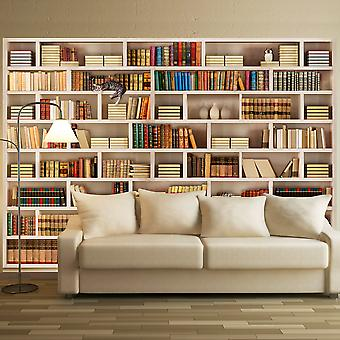 Fotobehang - Home library
