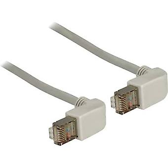 Delock RJ45 Networks Cable CAT 6 S/FTP 0.50 m Grey