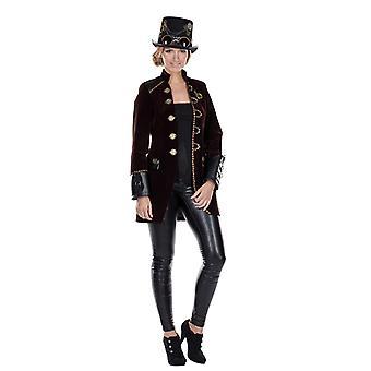 Steampunk coat punk Womens costume