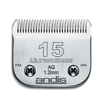 Andis UltraEdge Universal Grooming Clipper A5 Type Snap On Blade  - No. 15
