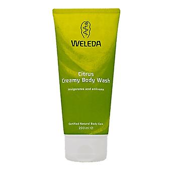 Weleda, Citrus krämig Body Wash, 200ml