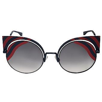 نظارات شمس فندي هيبنوشاين عين القط FF0215S 0M1 9L 53