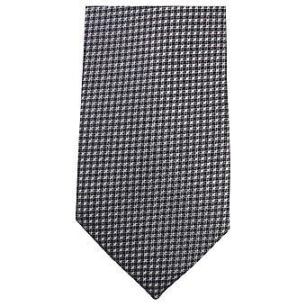 Knightsbridge Neckwear petites Croix Tie - noir
